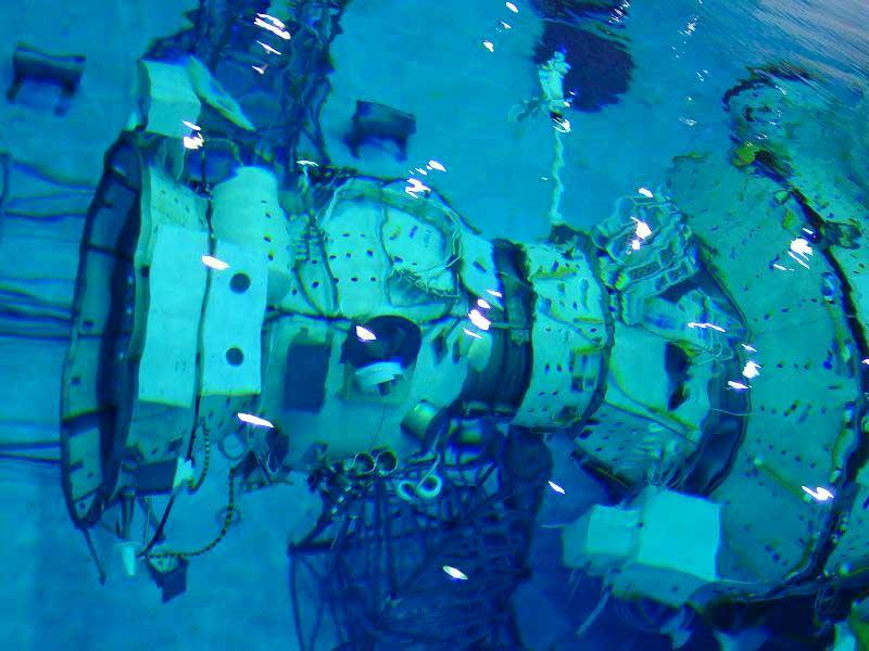 Submarine space walking