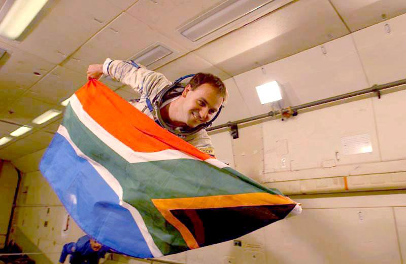 Flying The SA Colours