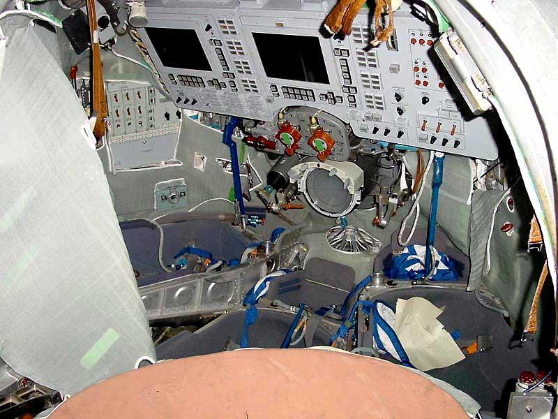 Next-generation Soyuz TMA Cockpit